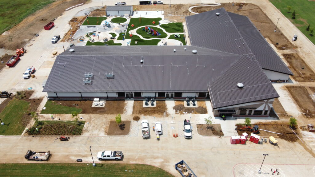 roof Childrens center for choktaw in oklahoma